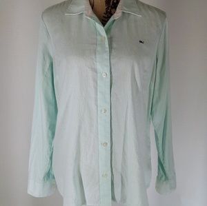 Vineyard Vines | Mint Oxford Button Down Top (12)